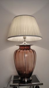 Good Quality Decorative Room Glass Table Lamps (6044-293T) pictures & photos