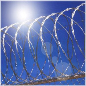 Professional Coiled Razor Barbed Wire (manufacturer) with 20 Years pictures & photos