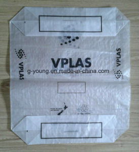 25kg PP Woven Valve Bag for Packaging Cement pictures & photos