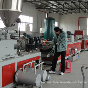 WPC Decking Extrusion Line Machine pictures & photos
