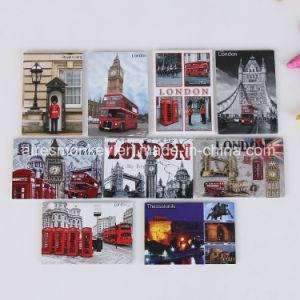 Promotional Tinplate Fridge Magnet of Customized Cmyk Printing pictures & photos