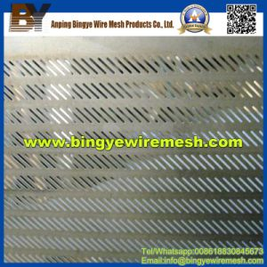 Stainless Steel Oblong Perforated Metal Mesh From Bingye pictures & photos