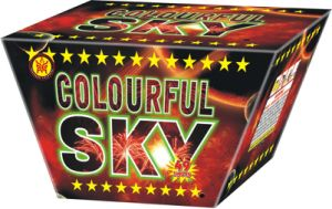 49s Colorful Sky (KL0849) Cakes Fireworks