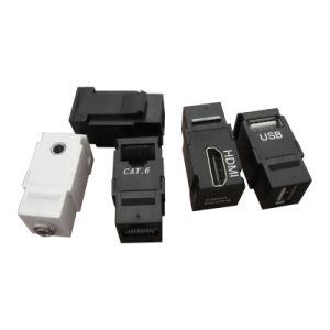 RJ45 USB HDMI 3.5 Jack Coupler
