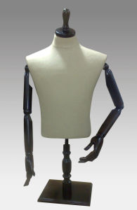 Halfbody Male Mannequins for Retail Display pictures & photos