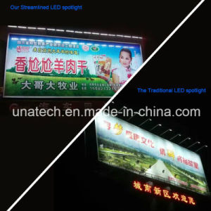 Solar Outdoo Billboard LED Streamlined Spot Light pictures & photos