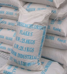 Dust Contral Agent/ Magnesium Chloride Flakes 46% pictures & photos