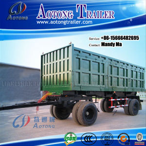 2 Axles Drawbar Trailer, Box Trailer, Full Trailer pictures & photos