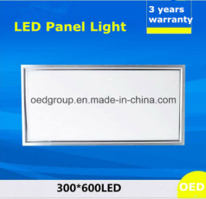 40W 300*600 LED Panel Light with Ce RoHS 3years Warranty pictures & photos