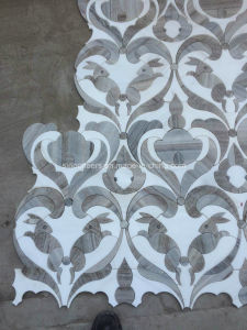 White and Grey Marble Rabbit Mosaic Arts pictures & photos
