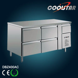 GN400 Kitchen Platform Counter Refrigerator with Digital LED pictures & photos