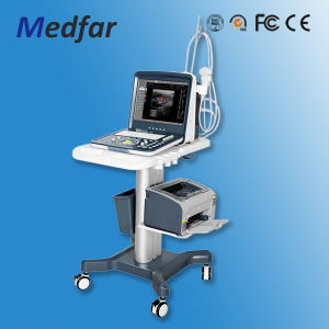 MFC6100 Portable Color Doppler Ultrasound Machine Medical Equipment pictures & photos