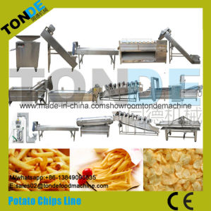 Fully Automatic Potato Chips Production Line pictures & photos