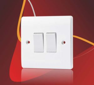 BS 10A 4 Gang 1 Way Electric Wall Switch for Home pictures & photos