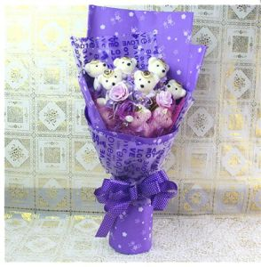 Wholesale Small Teddy Bear Stuffed Plush Toy Bouquet for Gifts Promotion pictures & photos