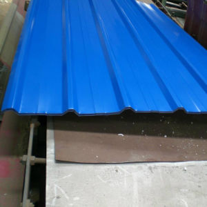 Dx51d Color Galvanized Corrugated Steel Sheet Roofing Sheet pictures & photos