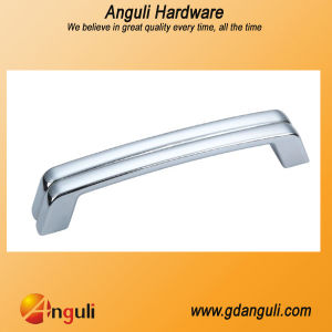 Hot Sale 128mm Pitch Square Tube Zinc Alloy Kitchen Furniture Handle pictures & photos