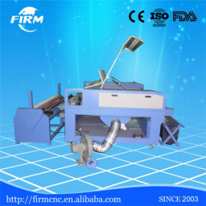 1600*1000mm Double Heads CO2 Fabric Laser Cutting Machine with Automatic Feed Manufacturer pictures & photos