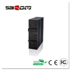 High Speed Ardal 1GX+4GE -40~ 80′C/20km Industrial Gigbit Network Switchs pictures & photos