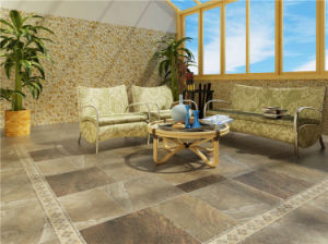 Hot Sale Glazed Porcelain Rustic Flooring Tile (HP58801)