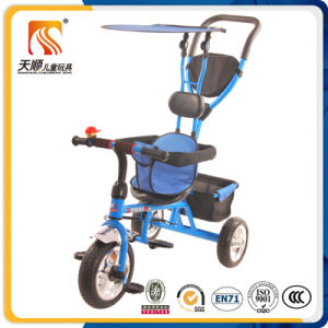 Blue Color Kids 3 Wheel Tricycle with Ce Certificate pictures & photos