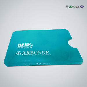 Factory Wholesales Promotiona Gift RFID Blocking Plastic Card Holder pictures & photos