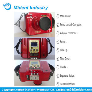 Korea Rayme Red Color Wireless Portable Dental X-ray Unit pictures & photos