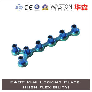 Titanium Fast Mini Locking Plate (HIgh-flexibility) pictures & photos