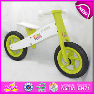 Stock! ! ! ! 2014 Stock Wooden Bicycle Toy for Kids, Stock Wooden Bike Toy for Children, Wooden Balance Bicycle Set for Baby Factory W16c089 pictures & photos