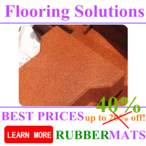 Colorful Color Bone Shape Rubber Outdoor Tile Paver Mat pictures & photos