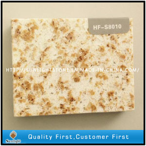 Artificial Mixed Color Quartz Stone/Quartz with Diamond pictures & photos
