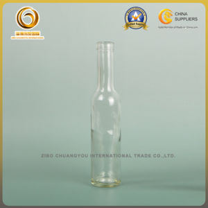 Flint/Clear 200ml Small Bordeaux Glass Wine Bottle (387) pictures & photos