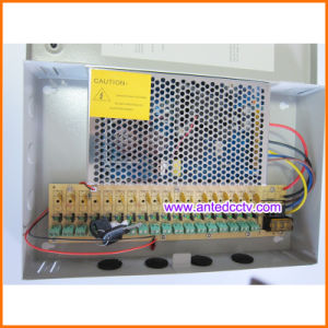 DC 12V CCTV Power Supply Distribution Box 360W 18 Channel 30A pictures & photos