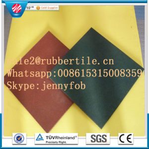 Gym Flooring Mat Rubber Factory Direct Indoor Rubber Tile Rubber Floor Tile pictures & photos