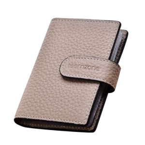 2014 Hot Genuine Leather Card Holder for Man or Women