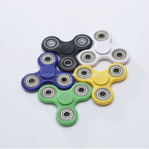 Anti-Stress Fingertip Light Hand Spinner Toy pictures & photos