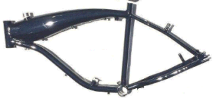 Bicycle Frame Aluminum, Gas Tank Built Frame 3.75L-Gas Motorized Bicycle pictures & photos