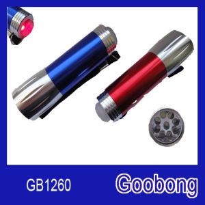 9LED Mini Aluminium Torch Flashlight pictures & photos