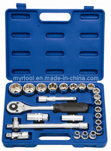 """Hot Sale-24pcsprofessional 1/2"""" Socket Set in Tools pictures & photos"""