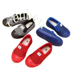 New Hot Sale Popular Children′s Casual Canvas Shoes pictures & photos