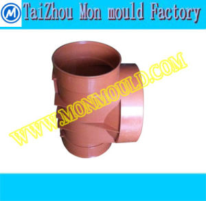 Plastic Equal Tee Water Fitting Mould pictures & photos