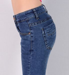 Women Denim Skinny Jeans pictures & photos
