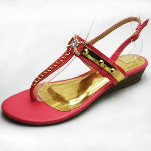 Comfortable PU Summer Flat Heel Women Sandals Shoes (A184401690