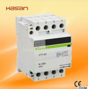 Household Modular Contactor, 220V Single Phase Electrical Contactor, Magnetic Contactor pictures & photos