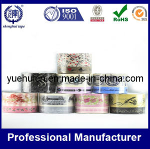 Customized Pattern/Design Printed Packing Tape (hotsize: 48mmx50m) pictures & photos