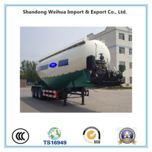 60cbm Bulk Cement Tanker Trailer with Nice Appearance pictures & photos