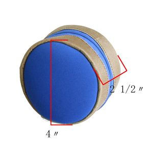 Wholesale Top Quality Zippered Fly Fishing Reel Pouch Bag pictures & photos