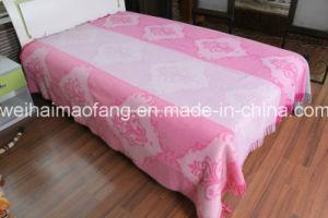 Jacquard Australian Merino Fine Virgin Wool Throw (NMQ-WB002) pictures & photos