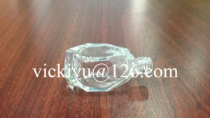 14ml Polyhedron-Shaped Small Glass Bottle pictures & photos