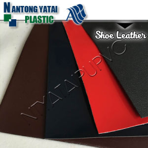 Anti-Mildew Elastic and Waterproof Microfiber Suede PVC Leather for Shoes